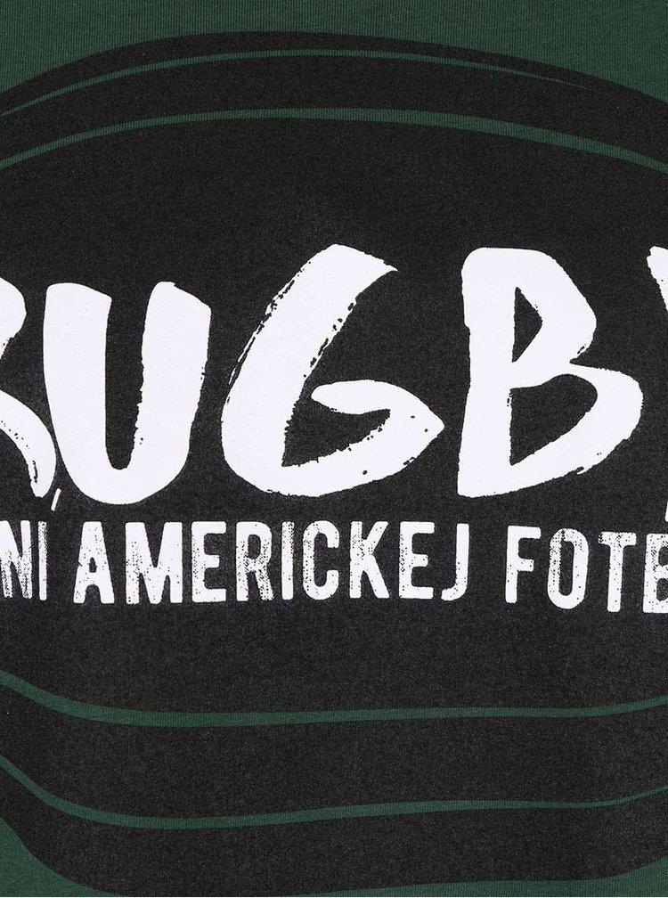 Tmavě zelené pánské triko ZOOT Originál Rugby