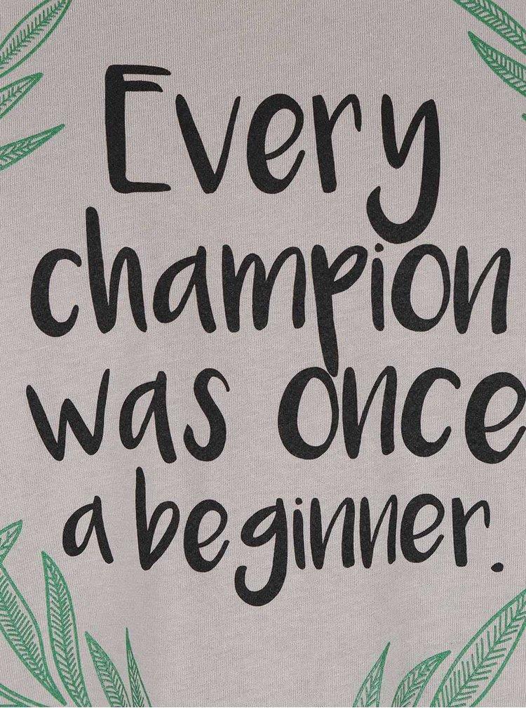 Šedé pánské triko ZOOT Originál Every Champion