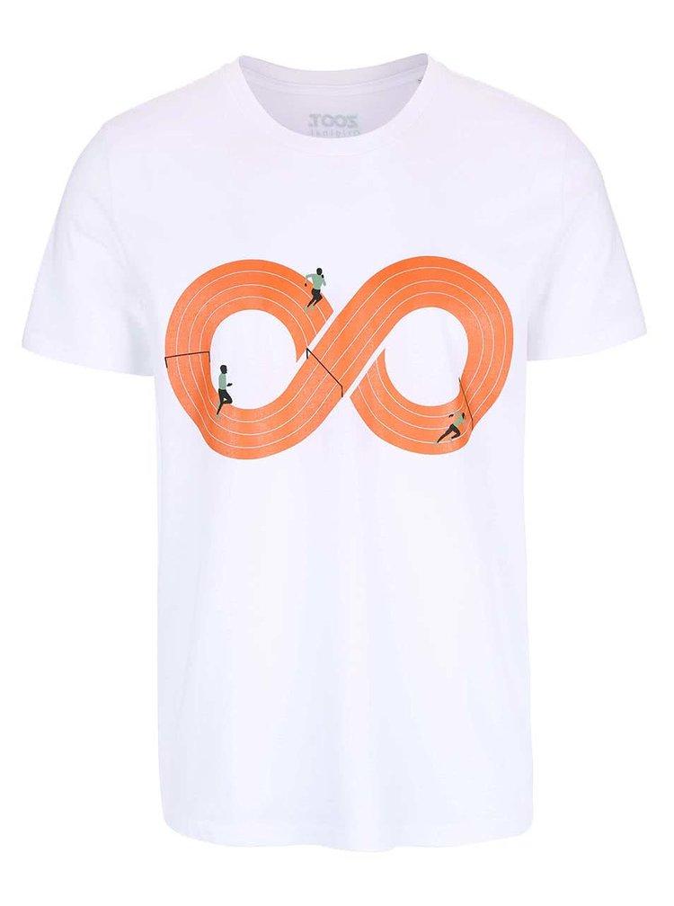 Bílé pánské triko ZOOT Originál Dráha