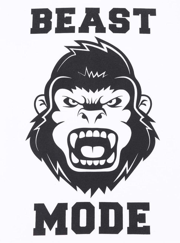 Bílé pánské triko ZOOT Originál Beast Mode