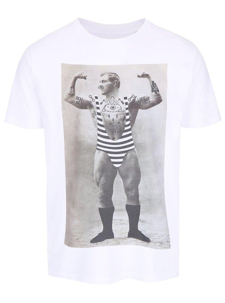 Pánske biele tričko ZOOT Originál Strongman