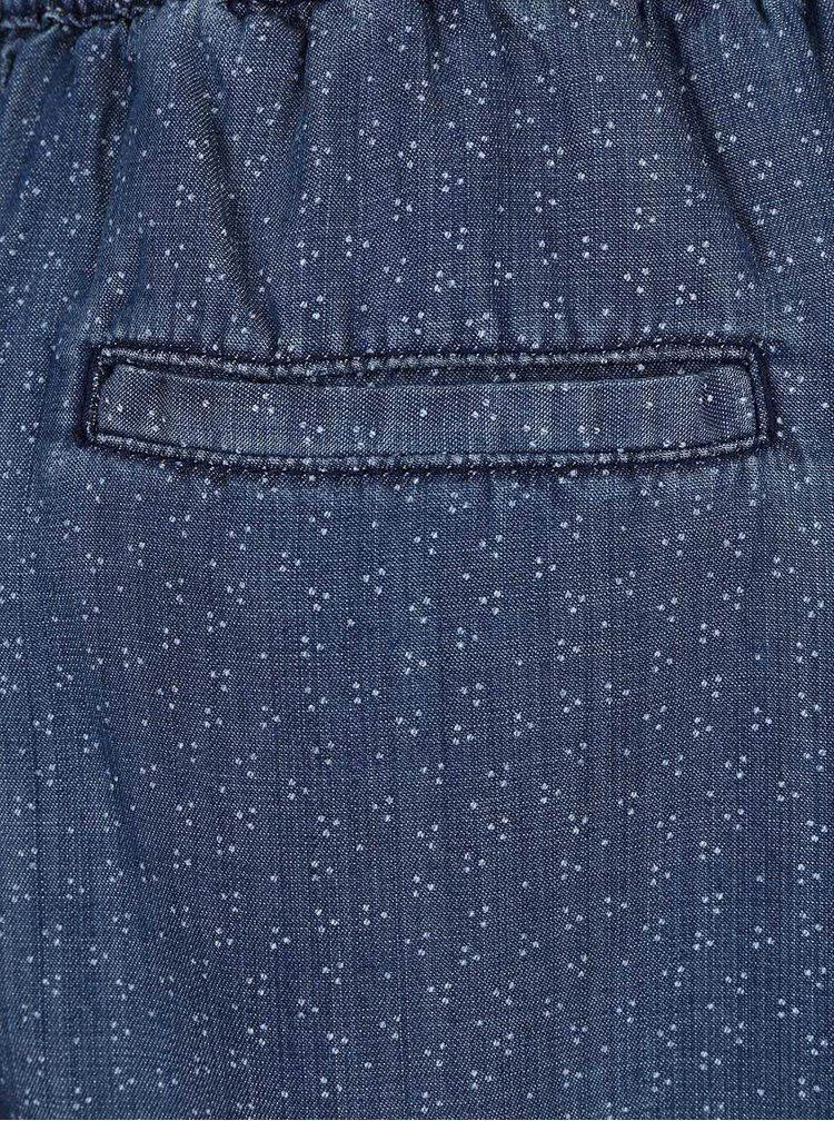Tmavomodrá sukňa so vzorom s.Oliver