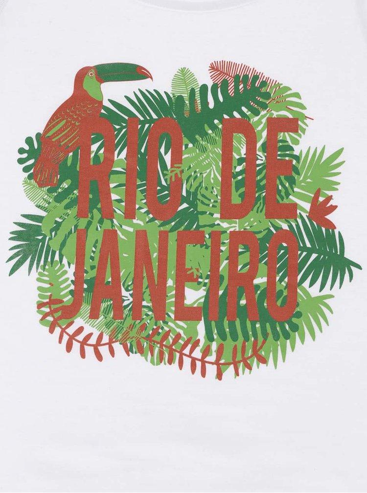 Biele dámske tielko ZOOT Originál Rio de Janeiro
