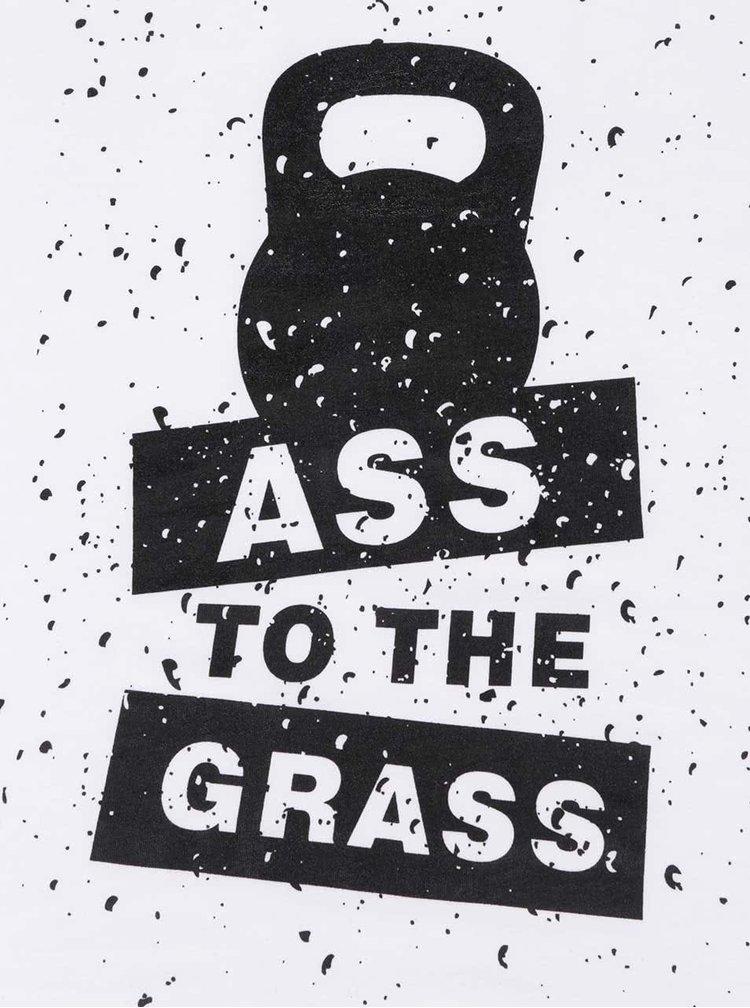Biele dámske tielko ZOOT Originál Ass To The Grass