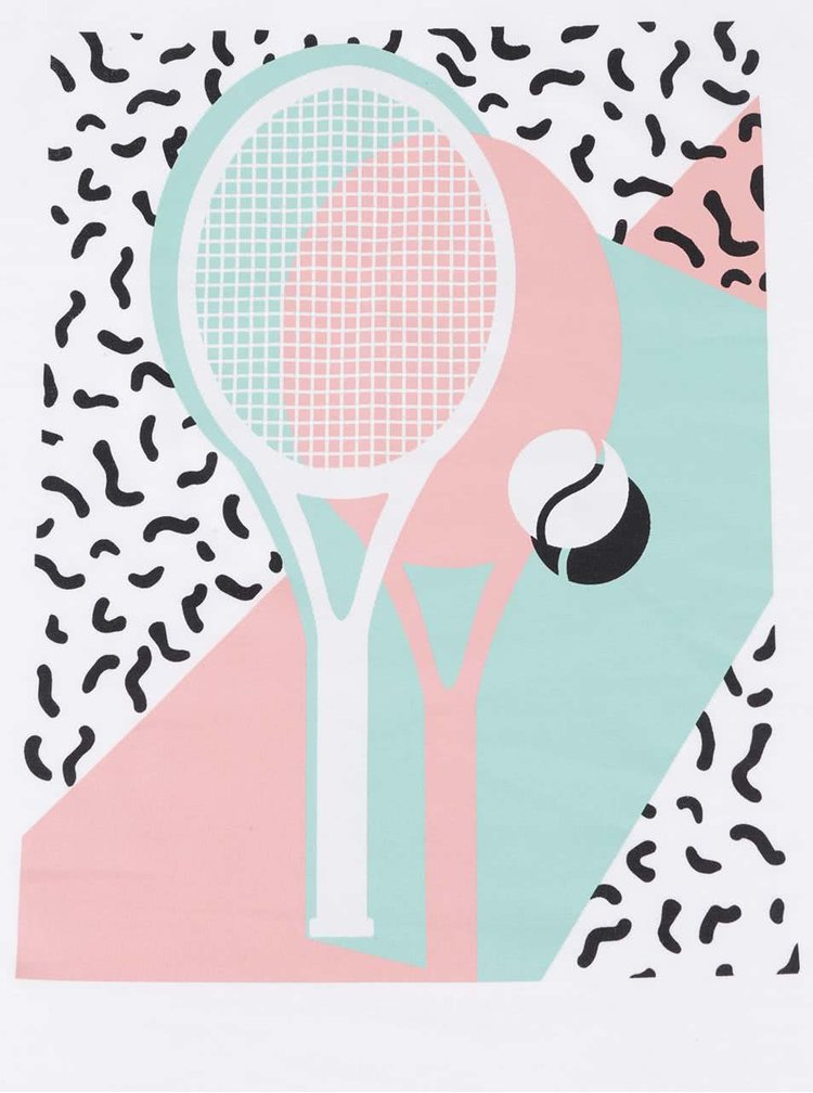 Biele dámske tielko ZOOT Originál Tenis