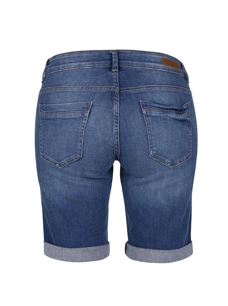 Modré dámské džínové kraťasy s.Oliver