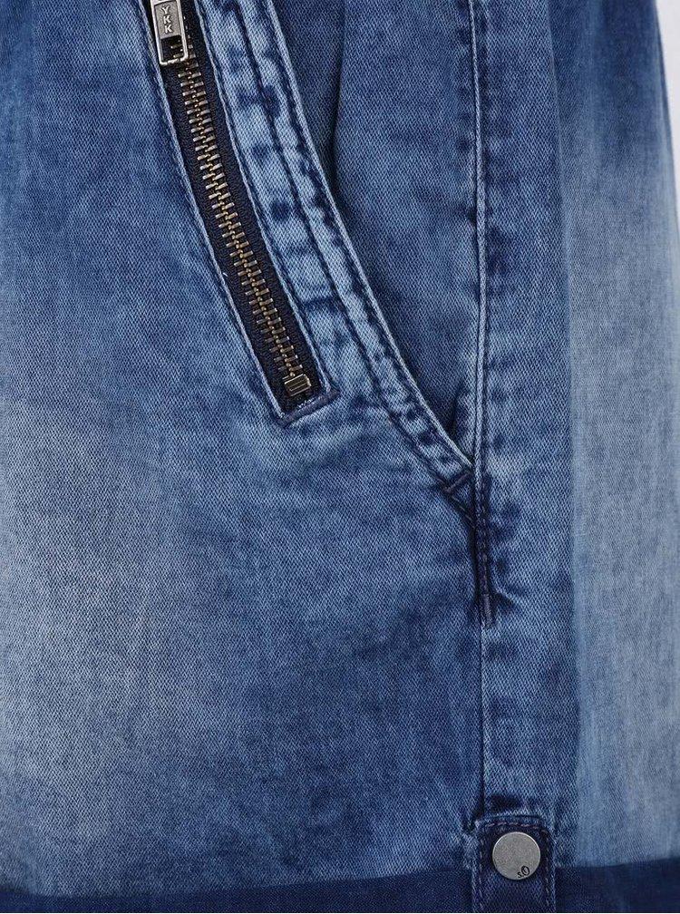 Tmavě modrý dámský džínový overal s.Oliver