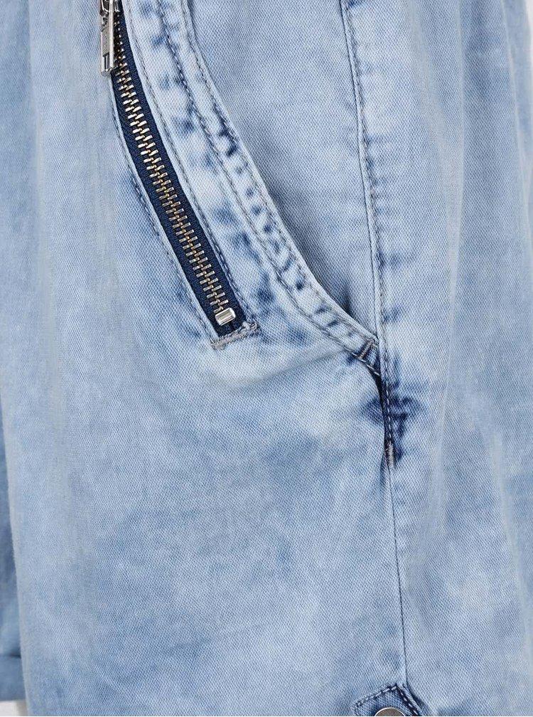Světle modrý dámský džínový overal s.Oliver
