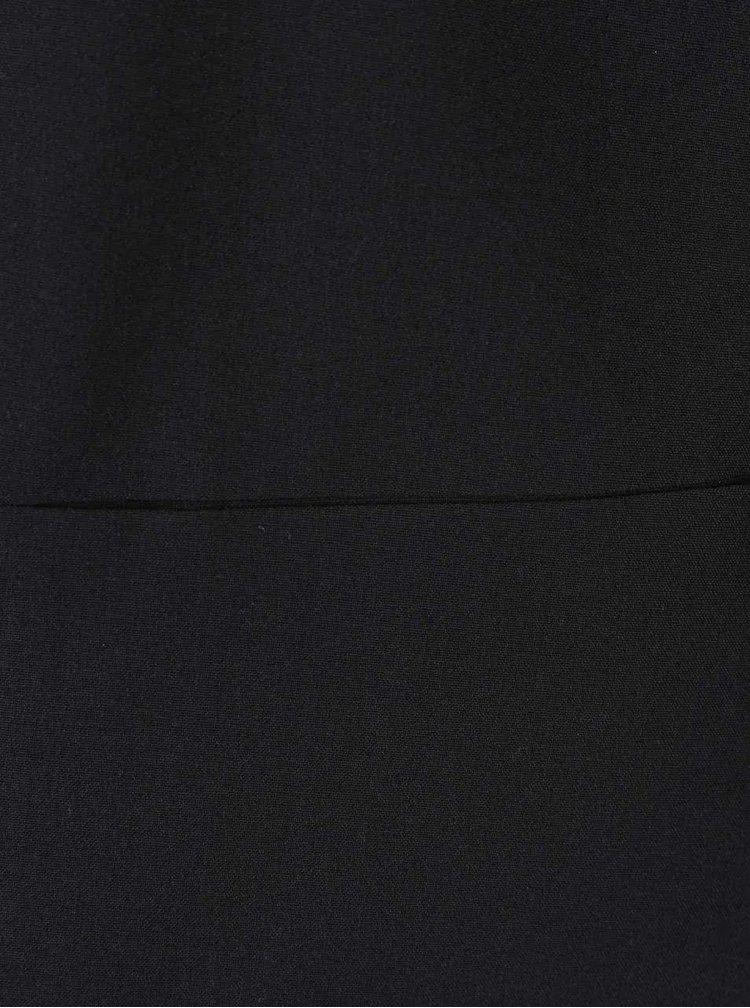 Černý blejzr s nařasenými rukávy VERO MODA Dana