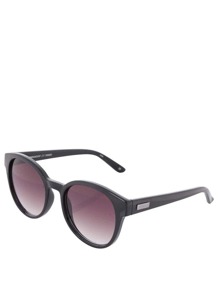 Čierne unisex slnečné okuliare Le Specs Parmount