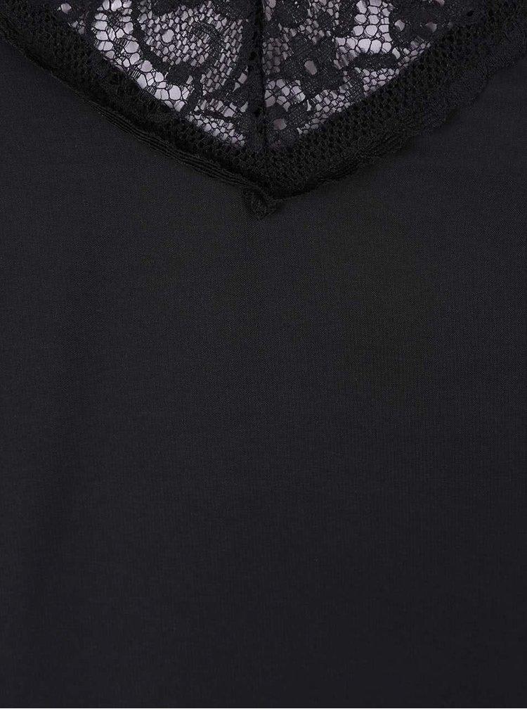 Černá noční košilka Y.A.S Adie