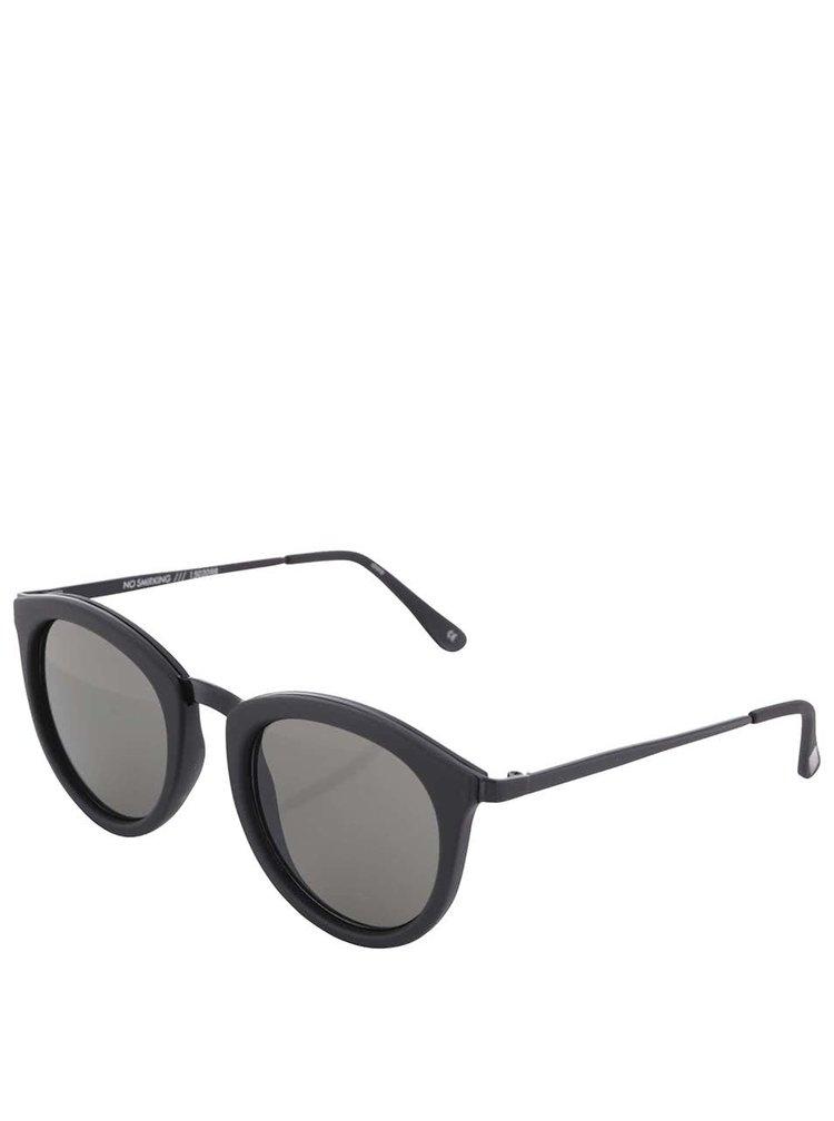 Černé dámské sluneční brýle Le Specs No Smirking