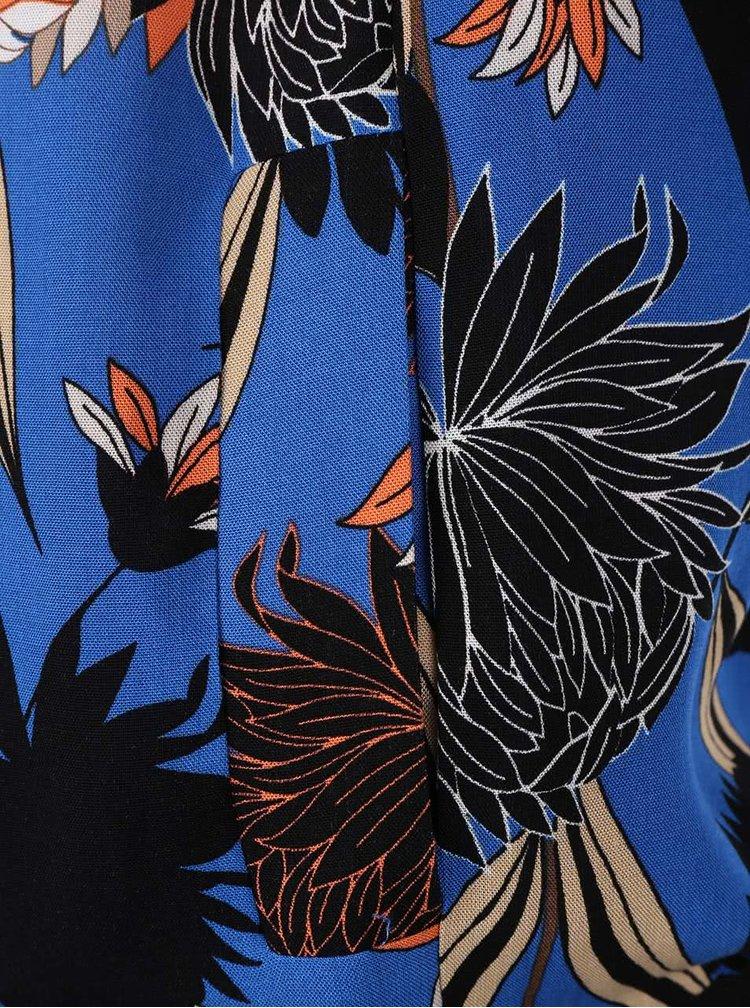 Modrý kvetovaný bomber Dorothy Prekins