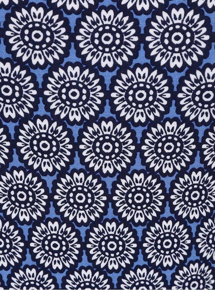 Modré midišaty s kvetovým vzorom Dorothy Perkins
