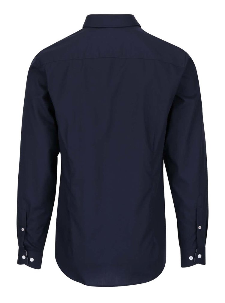 Tmavě modrá slim fit košile Selected Homme Xoneandy
