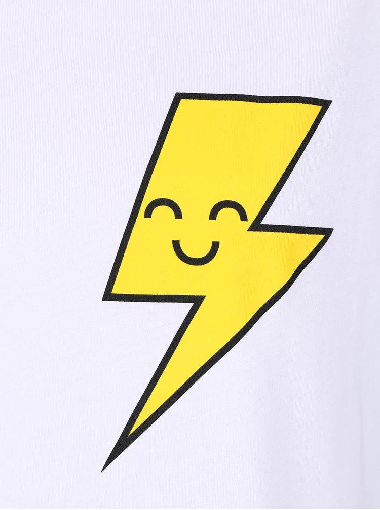 Bílé dámské volné tričko ZOOT Originál Electric Castle