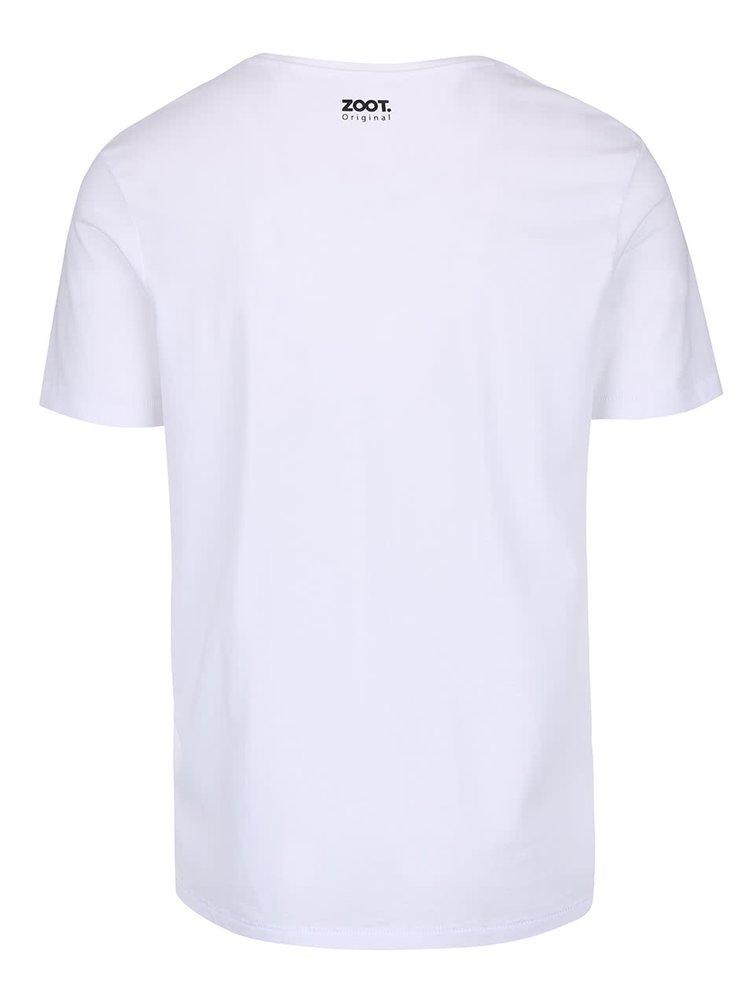Bílé pánské triko ZOOT Originál Electric Shots