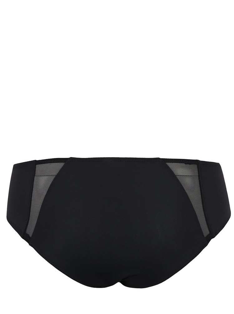 Čierne nohavičky ICÔNE Lys