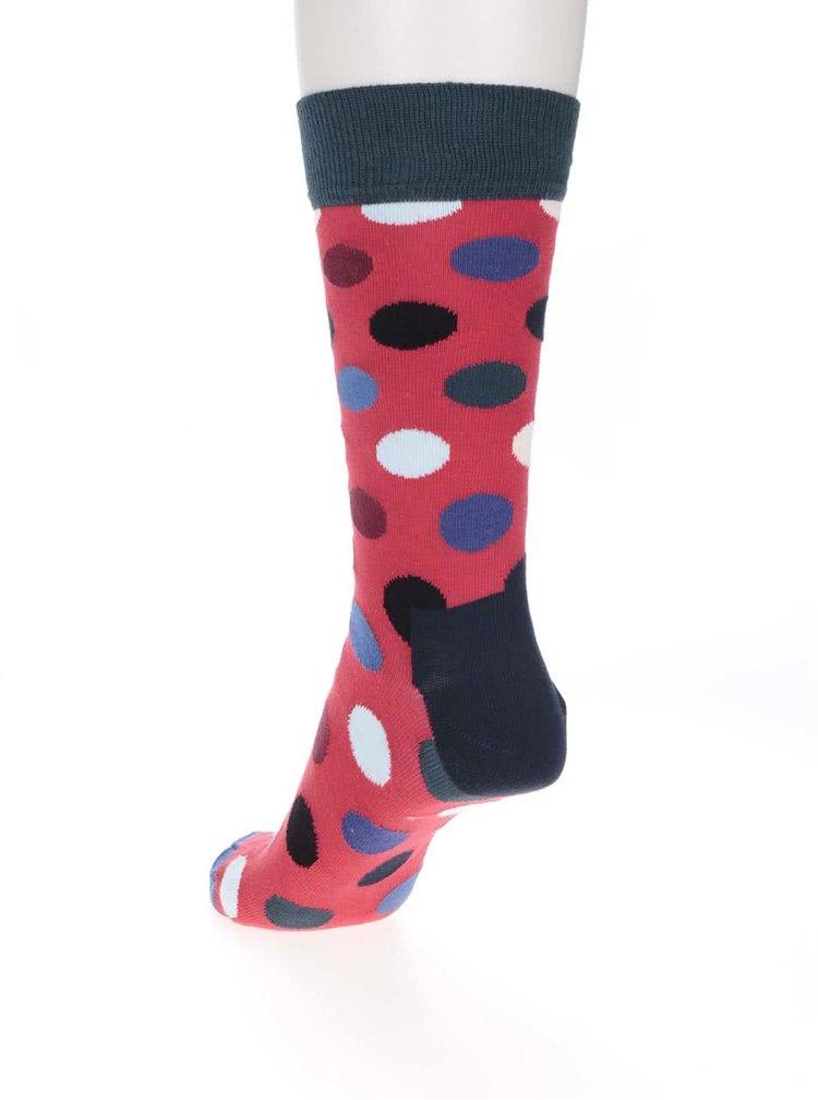 Șosete multicolore pentru bărbați Happy Socks Big Dot