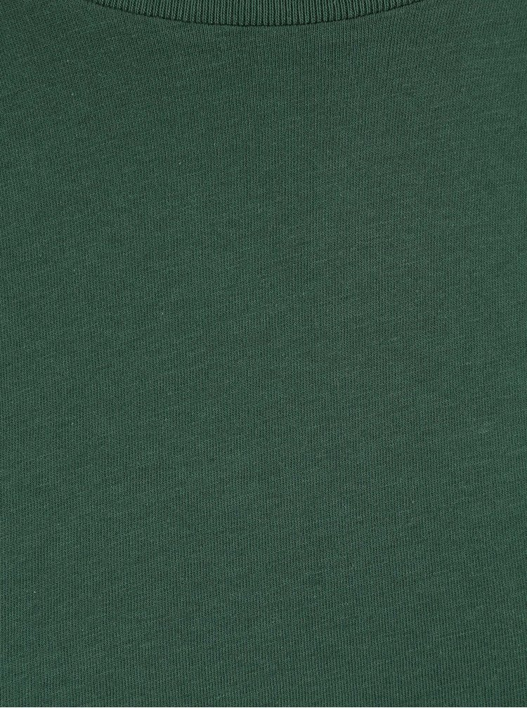 Tmavě zelené pánské triko Stanley & Stella Leads