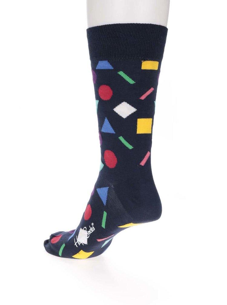 Tmavomodré pánske ponožky Happy Socks Play