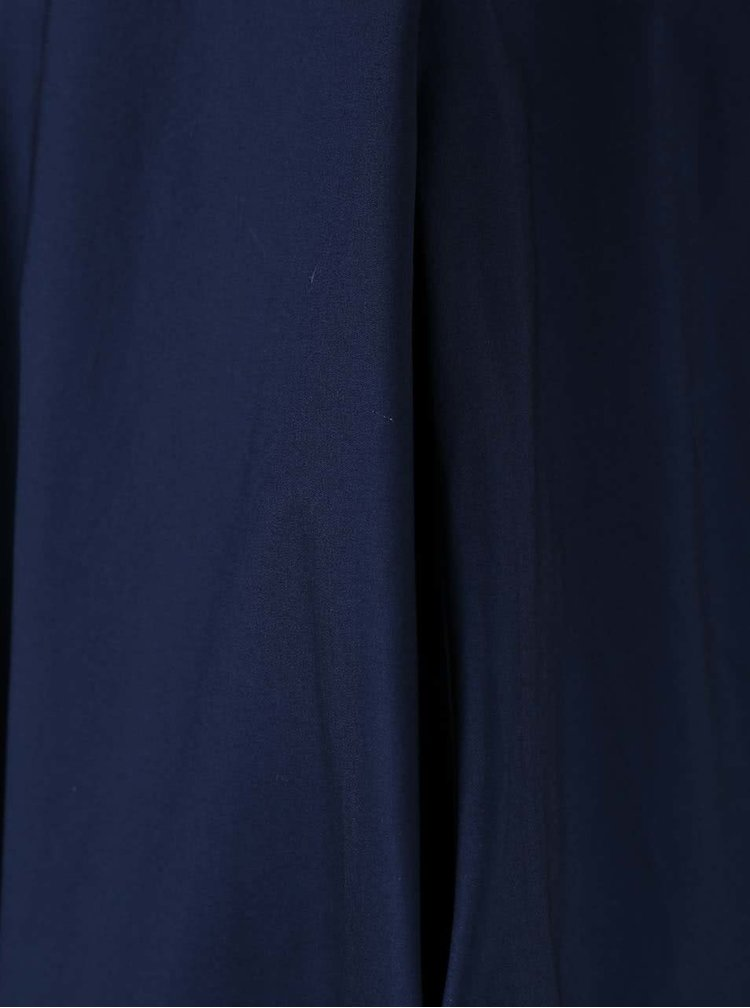 Rochie bleumarin Closet cu nasturi metalici