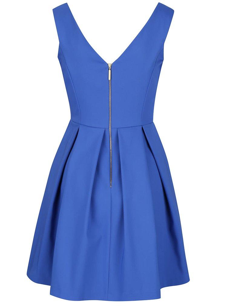 Rochie albastră Closet cu decolteu în V
