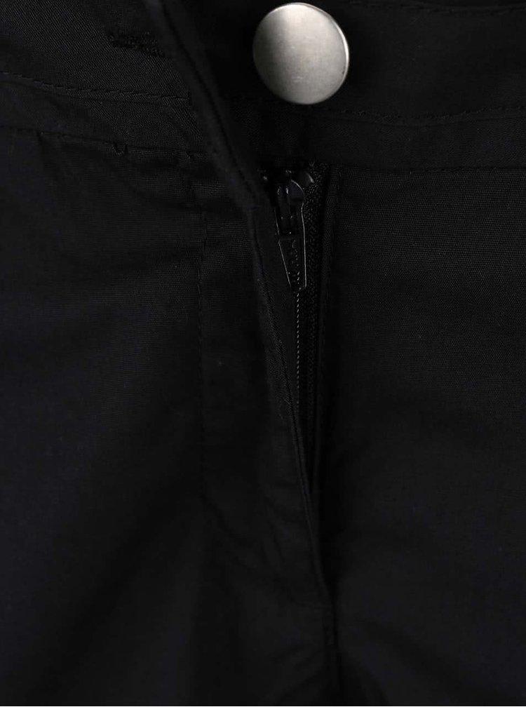 Černé elegantní kraťasy nad kolena Dorothy Perkins