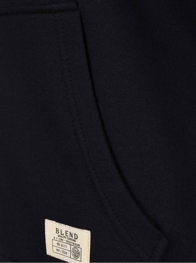 Hanorac negru Blend