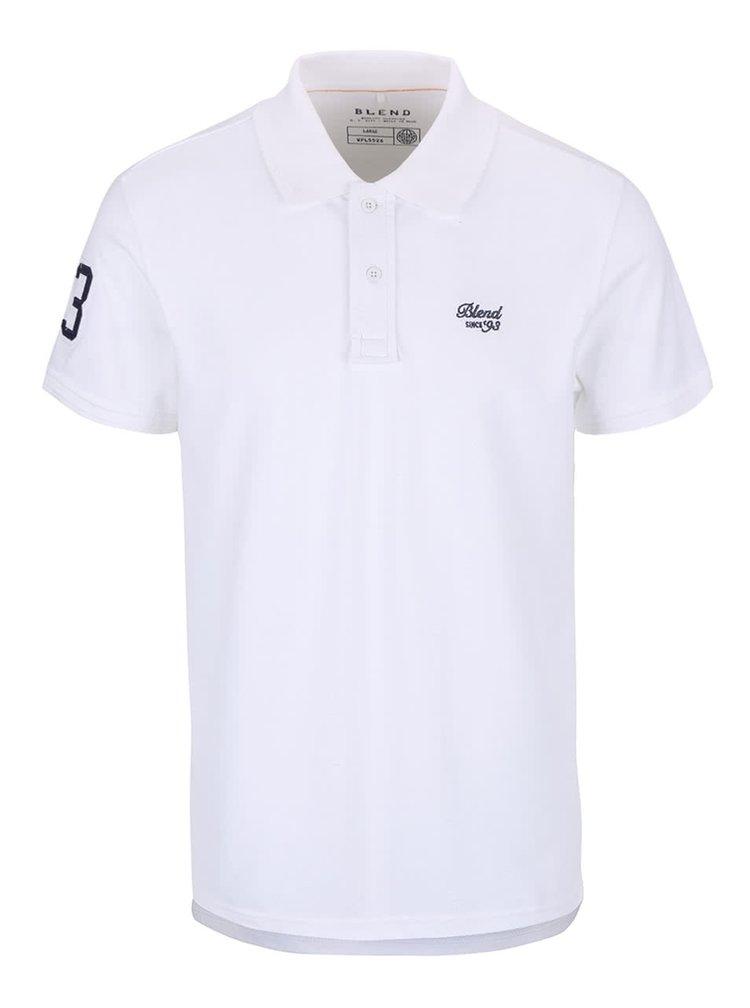 Bílé polo triko Blend