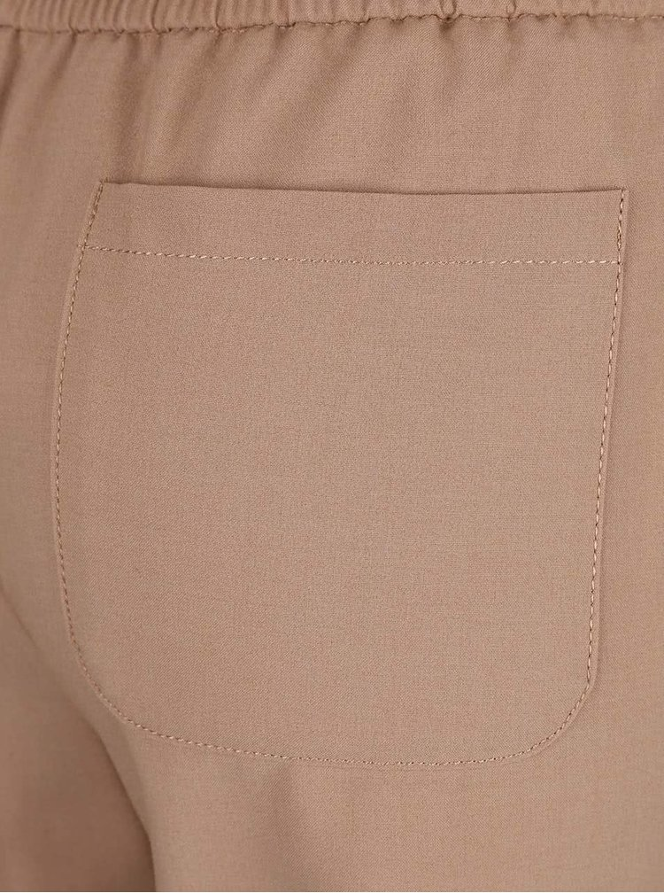 Svetlohnedé skrátené nohavice Dorothy Perkins