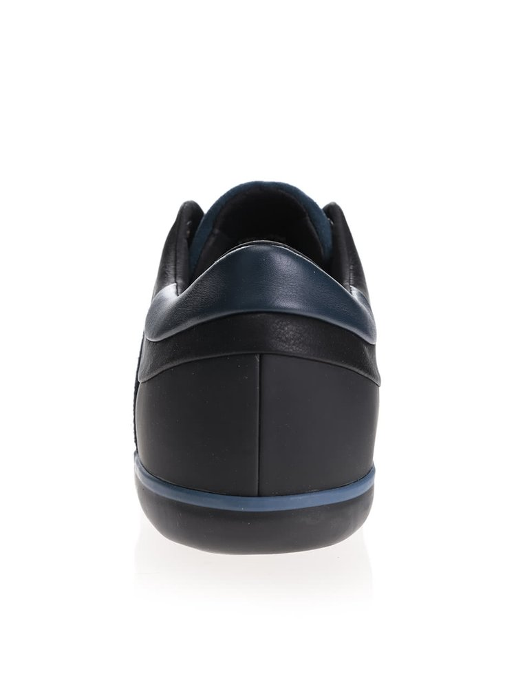 Čierno-modré pánske tenisky Geox Box C