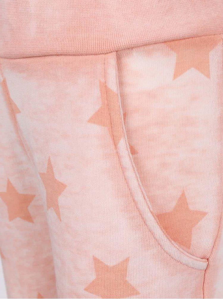 Colanți roz de fete Name It Lami