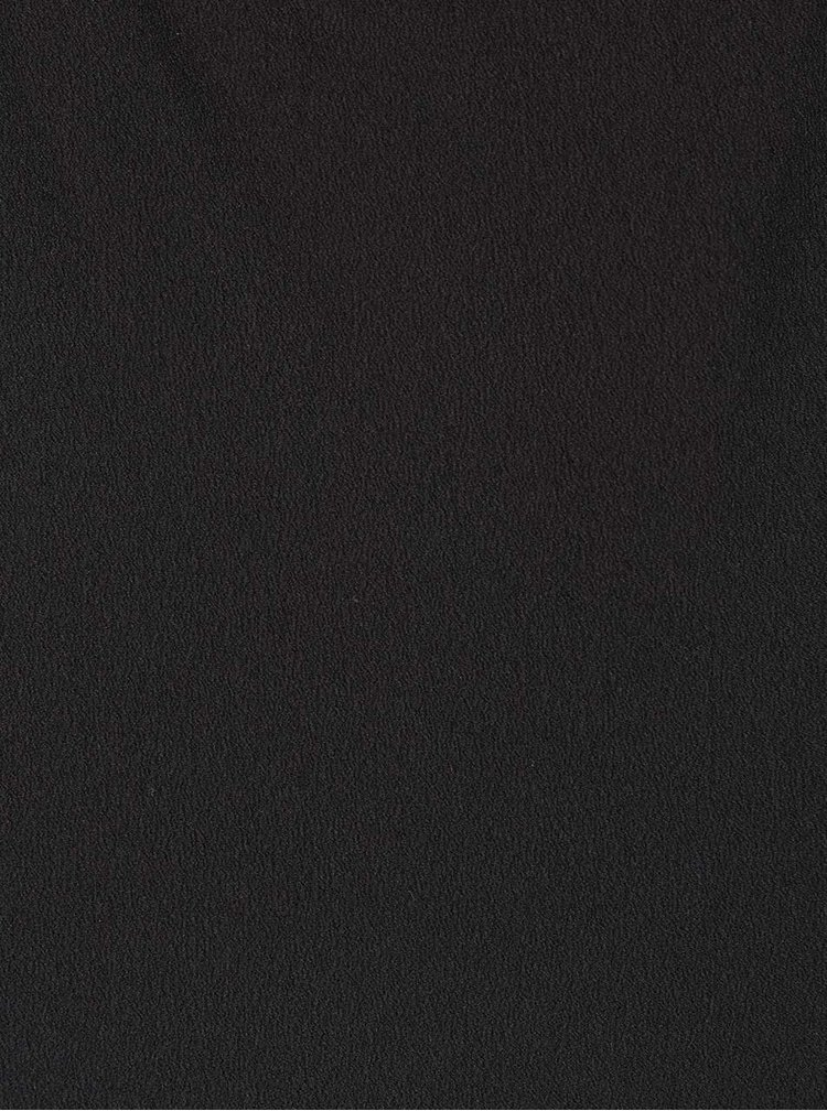 Černý top s tenkými ramínky a krajkou Miss Selfridge