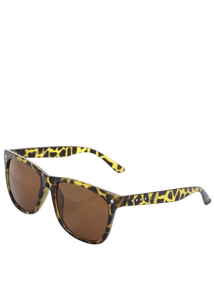 Černozelené sluneční brýle Jack & Jones Jack