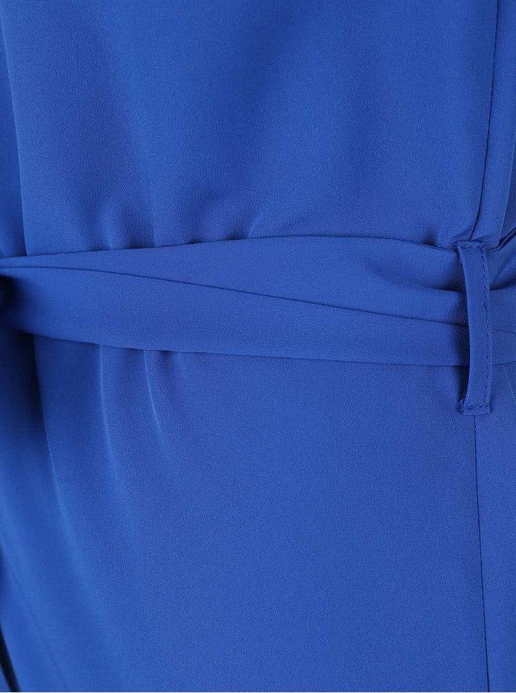 Modrý overal na ramínka Miss Selfridge