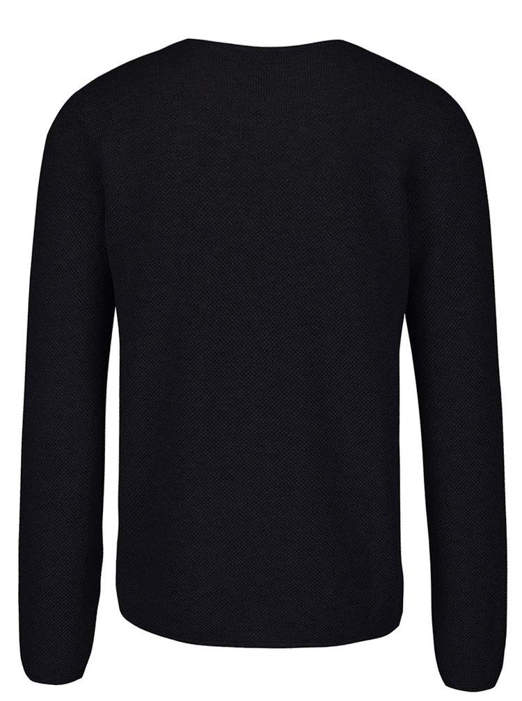 Tmavomodrý tenký sveter ONLY & SONS Gason