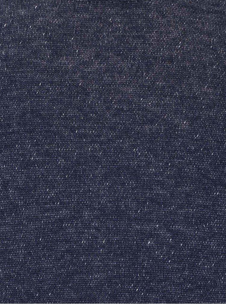 Pulover albastru închis melanj ONLY & SONS Garson din bumbac