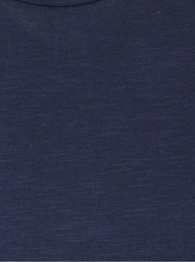 Modré melírované tričko ONLY & SONS Nord
