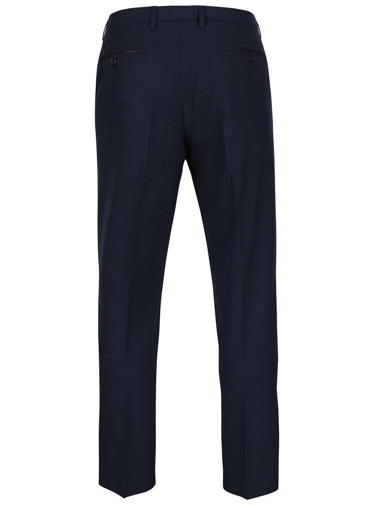 Tmavomodré skinny fit nohavice Burton Menswear London