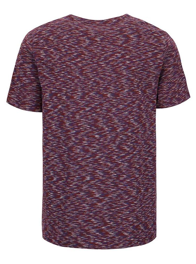 Tricou vișiniu Burton Menswear London