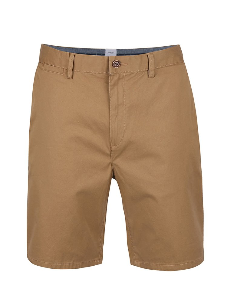 Pantaloni scurti maro Burton Menswear London