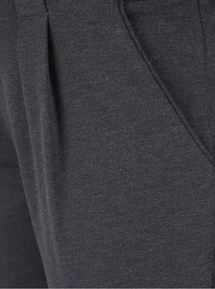 Tmavě šedé dámské kalhoty ONLY New Kelly