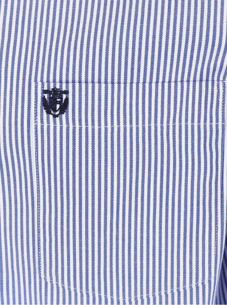 Modro-bílá pruhovaná košile Selected Homme Collect