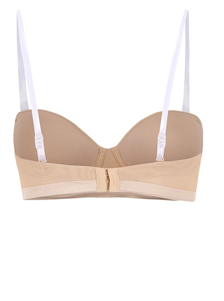 Sutien nude balconette cu bretele detasabile -  DKNY