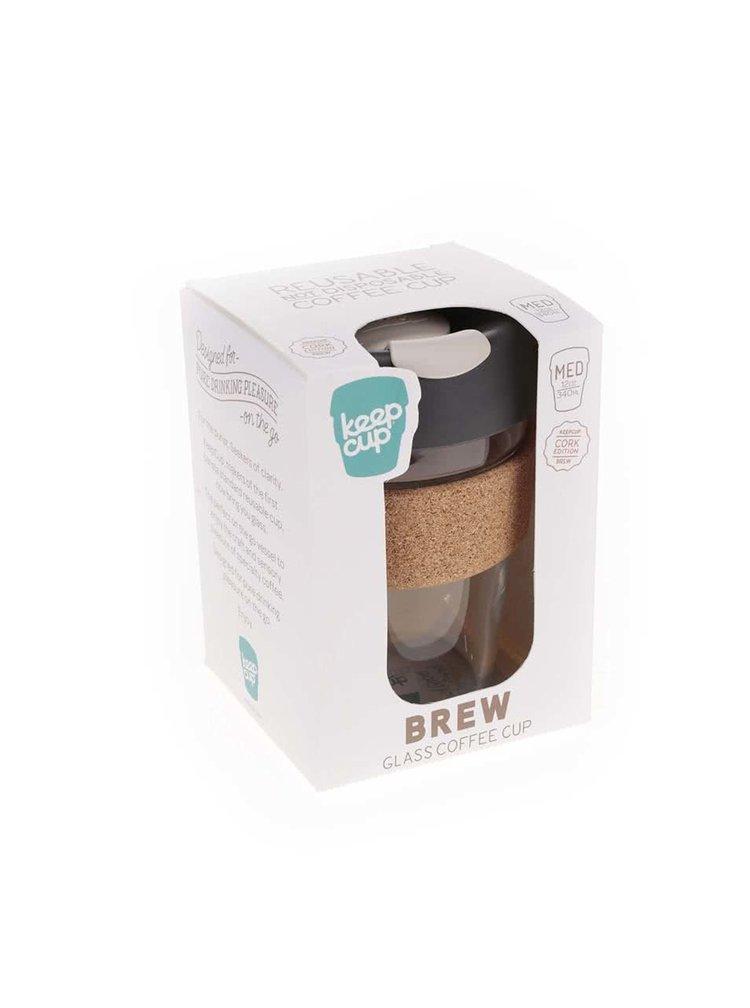 Designový cestovní skleněný hrnek KeepCup Brew Press Medium