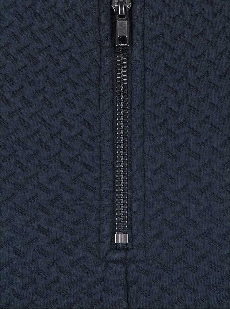 Tmavomodrá elastická sukňa VILA Naja