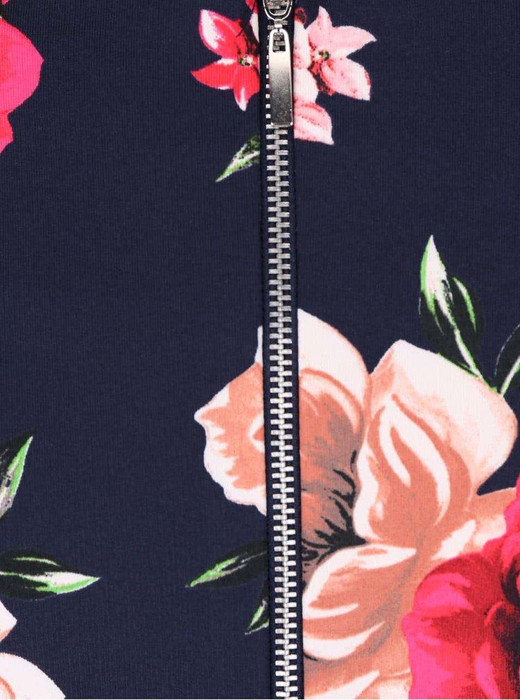 Rochie albastru închis Dorothy Perkins cu model floral