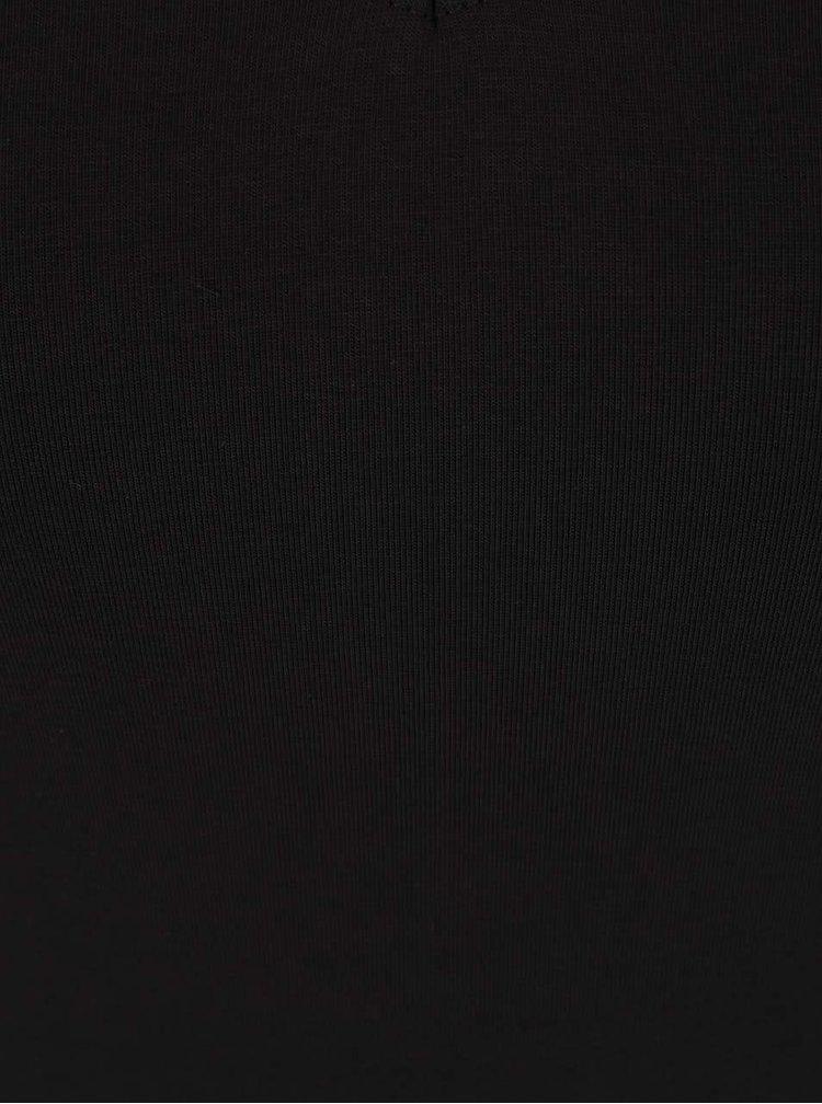Čierne body s krátkym rukávom Dorothy Perkins