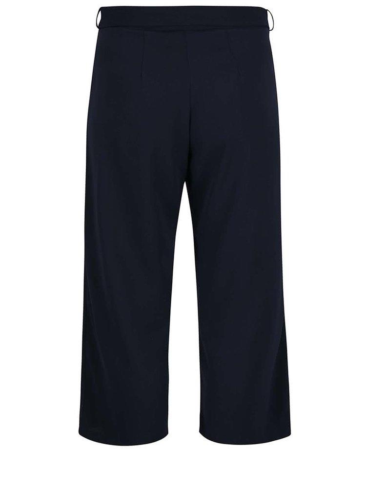 Pantaloni culottes albastru închis Dorothy Perkins